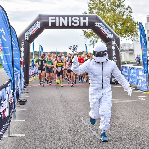 Running Grand Prix at Goodwood Motor Circuit Half Marathon