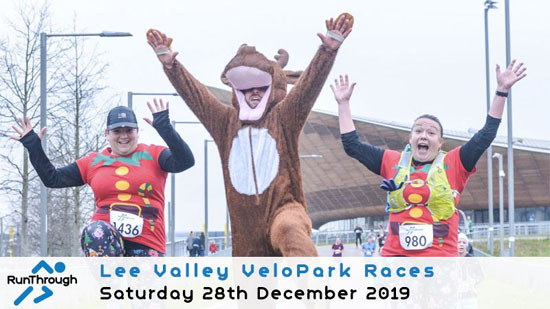 December Lee Valley VeloPark Half Marathon